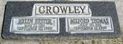 Helen Hester <i>Tollett</i> Crowley