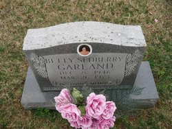 Betty May <i>Sedberry</i> Garland