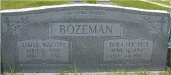 Dora Lee <i>Pelt</i> Bozeman