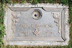 Fred E Bailer, Sr