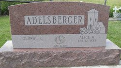 Alice Mae <i>Roberts</i> Adelsberger