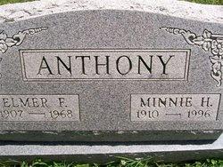 Minnie Helen <i>Tucker</i> Anthony