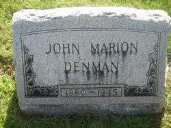 John Marion Denman