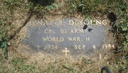 Corp Henry J. DeYoung