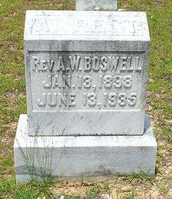 Rev A. W. Boswell