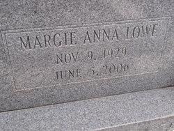Margie Anna <i>Lowe</i> Davis