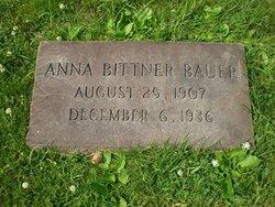 Anna <i>Bittner</i> Bauer