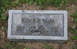 Betty A. McMILLAN