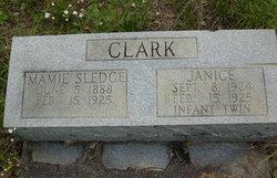 Mamie <i>Sledge</i> Clark
