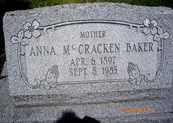 Anna <i>McCracken</i> Baker