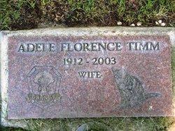 Adele Florence <i>Leonard</i> Timm