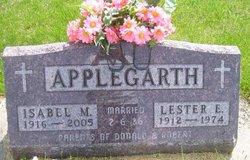 Isabel M. <i>Davis</i> Applegarth