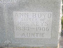 Anna Boyd