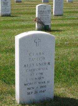 Clark Taylor Alexander