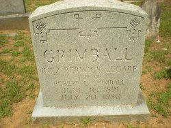 Inez Berwick <i>Legare</i> Grimball