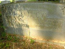 Martha Ellen Ellie <i>Parrott</i> Bailey