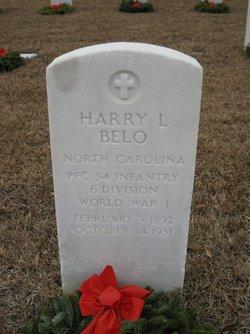 Harry L Belo