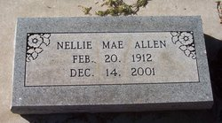 Nellie Mae <i>Church</i> Allen