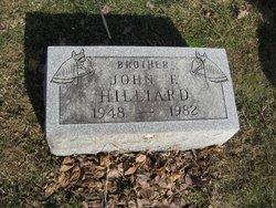 John F Hilliard