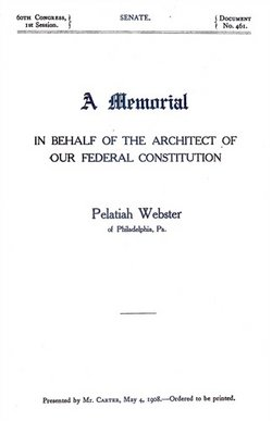 Rev Pelatiah Webster, II