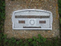 Rebecca <i>Benedict</i> Brundege