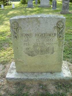 Sarah Jane Jennie Hightower
