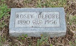 Rosey <i>Orton</i> Defore