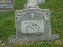 Wilma <i>Fore</i> Austin