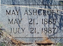 May Ashcroft