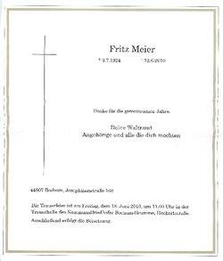 Fritz Meier