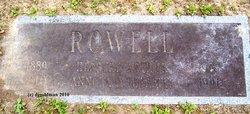 Anola D. <i>Tebbetts</i> Rowell