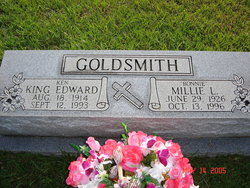 Millie Lavonia Bonnie <i>Brasfield</i> Goldsmith
