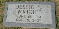 Jessie Laconia <i>Yandle</i> Wright