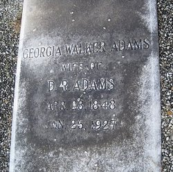 Georgia <i>Walker</i> Adams