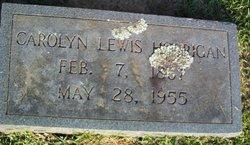 Carolyn <i>Lewis</i> Horrigan