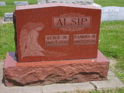 Alice M. <i>Cronan</i> Alsip