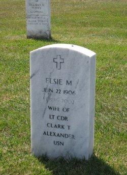Elsie M Alexander