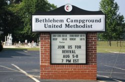 Bethlehem Campground United Methodist Cemetery