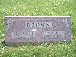 Beatrice Irene <i>Bellis</i> Brown