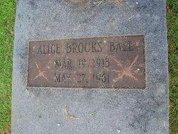 Alice <i>Brooks</i> Ball