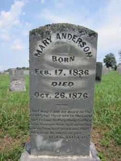 Mary <i>Cowden</i> Anderson