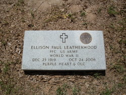 PFC Ellison Paul Leatherwood