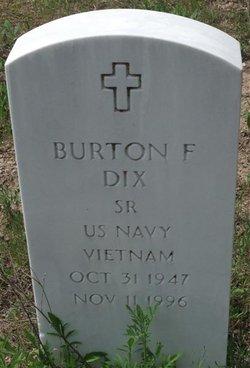 Burton F Dix, Sr