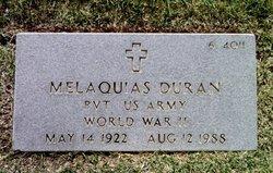 Pvt Melaquias Duran