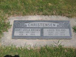 Mary Viola <i>Brown</i> Christensen
