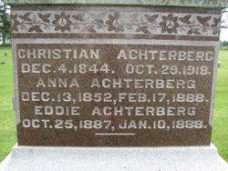 Anne <i>Steiner</i> Achterberg