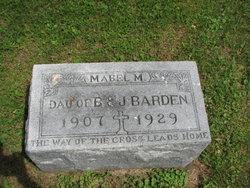 Mabel M. Barden