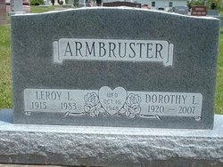 Dorothy L <i>Betz</i> Armbruster