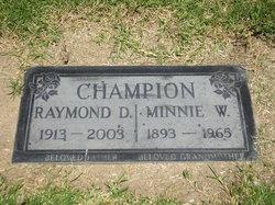 Minnie Wilhelmina <i>Smith</i> Champion
