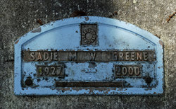 Sadie Mae <i>Williams</i> Green